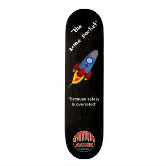 絶頂のロケット スケートボード