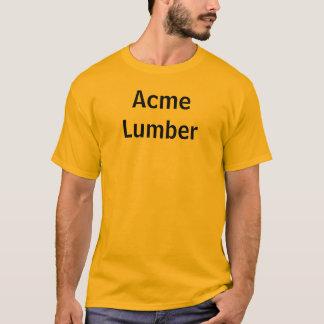 絶頂の製材 Tシャツ