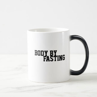 絶食のコーヒー・マグによる体 モーフィングマグカップ