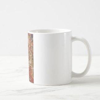 絹のチベットTHANGKAの芸術作品 コーヒーマグカップ