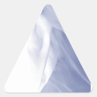 絹のデザイン 三角形シール