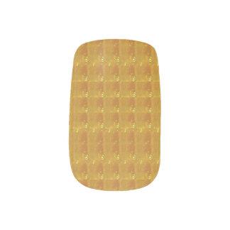 絹の水晶Minxはclous couverturesをesthéticien ネイルアート