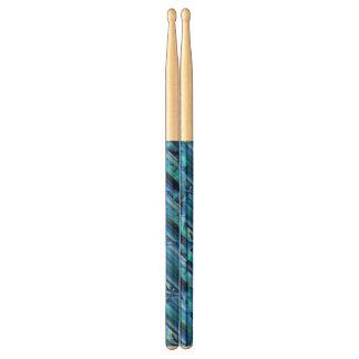 継ぎ目が無いグラフィック・デザイン-暗藍色I ドラム用スティック
