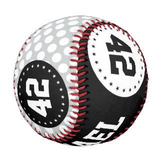 継ぎ目が無いパターン白に点を打ちます + あなたのbackgr. ベースボール