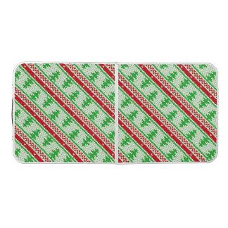 継ぎ目が無いパターン2を編むクリスマス + あなたのアイディア ビアポンテーブル