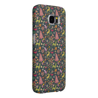 継ぎ目が無いパッチワークのクリスマスパターンSamsung 6Case Samsung Galaxy S6 ケース