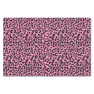 継ぎ目が無いピンクのジャガーのアニマルプリント 薄葉紙