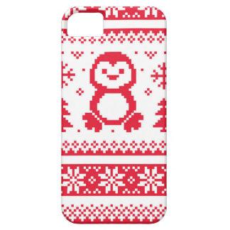 継ぎ目が無い冬パターンクリスマスのsmartphoneの場合 iPhone SE/5/5s ケース