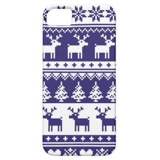 継ぎ目が無い冬パターンクリスマスのsmartphoneの場合、 iPhone SE/5/5s ケース