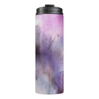 継ぎ目が無い立体派の紫色の抽象美術 タンブラー