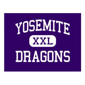 続くヨセミテ-ドラゴン- - Mercedカリフォルニア ポストカード