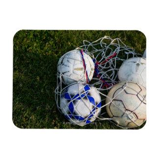 網のサッカーボール マグネット
