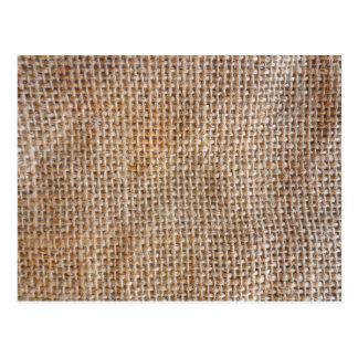 綿のキャンバス ポストカード