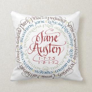 綿の装飾用クッション-ジェーンAustenの時代劇 クッション