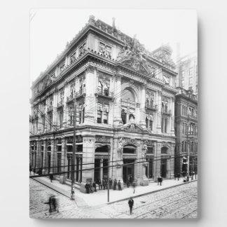 綿交換ニュー・オーリンズ1881年 フォトプラーク