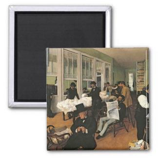 綿交換、ニュー・オーリンズ1873年 マグネット