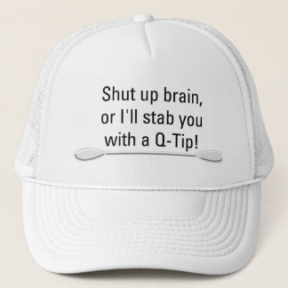 綿棒の帽子 キャップ