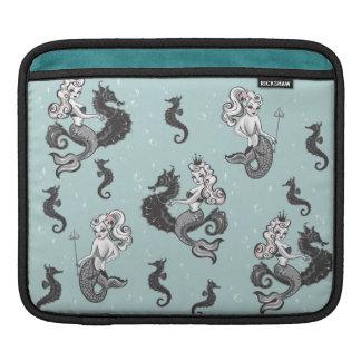 綿毛によるPearlaの人魚のIpadの袖 iPadスリーブ