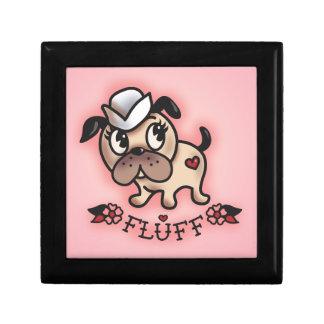 綿毛のMontyの船員犬のJewlery箱 ギフトボックス