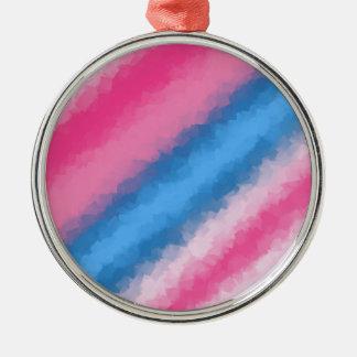 綿菓子の虹色 メタルオーナメント