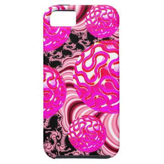 綿菓子、抽象的なマゼンタのピンクの甘さ iPhone SE/5/5s ケース