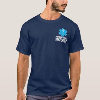 緊急の医学の応答機 Tシャツ