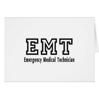 緊急の医学の技術者 カード