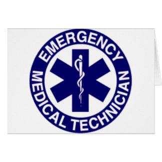 緊急の医学の技術者EMT カード
