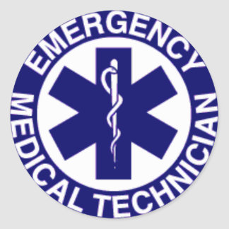 緊急の医学の技術者EMT ラウンドシール