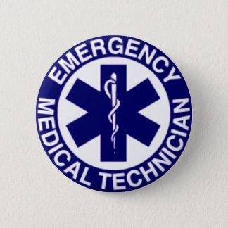 緊急の医学の技術者EMT 缶バッジ
