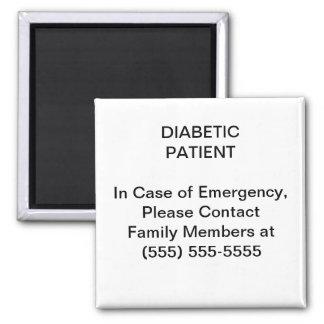 緊急の医学の接触の電話番号の磁石 マグネット