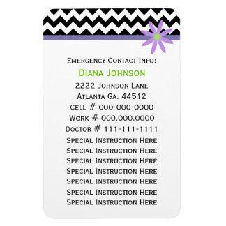 緊急の接触: ベビーシッターの報酬の磁石 マグネット