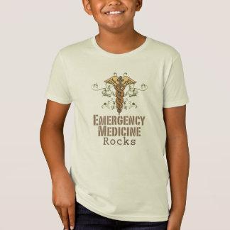 緊急の薬は子供のオーガニックなティーを揺すります Tシャツ
