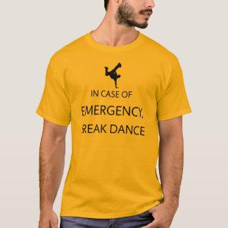 緊急事態: ブレイクダンス Tシャツ
