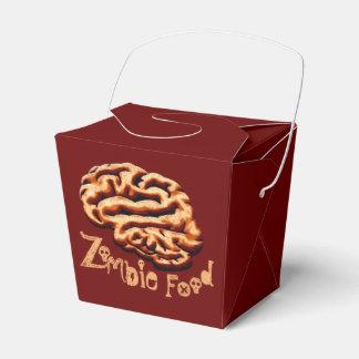 総体のゾンビの食糧頭脳のハローウィンパーティの好意箱 フェイバーボックス