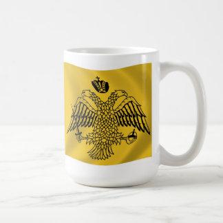 総大主教の旗のマグ コーヒーマグカップ