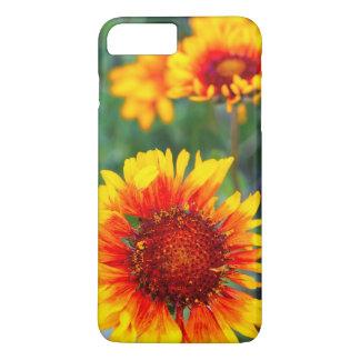 総括的な花の別名茶色は氷河のスーザンを注目しました iPhone 8 PLUS/7 PLUSケース