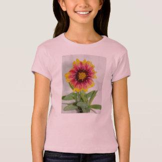 総括的な花のTシャツ Tシャツ