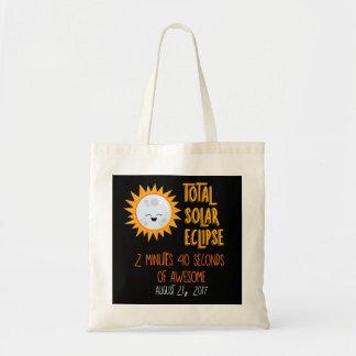 総日食のEmojiのトートバック トートバッグ