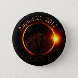 総日食全く素晴らしくカスタムなボタン 5.7CM 丸型バッジ