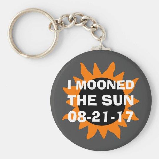 総日食私によってはおもしろいな日曜日がうろつきました キーホルダー