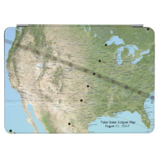 総日食道の地図2017年 iPad AIR カバー