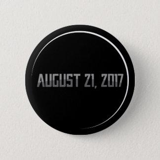 総日食2017の円形ボタン 5.7CM 丸型バッジ