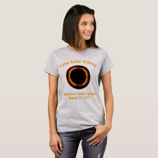 総日食(チャールストン、サウスカロライナ) Tシャツ