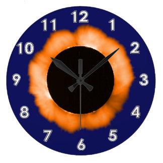 総日食 ラージ壁時計