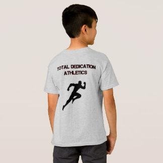総献呈の運動競技のTシャツ Tシャツ