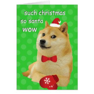 総督のクリスマスカード グリーティングカード