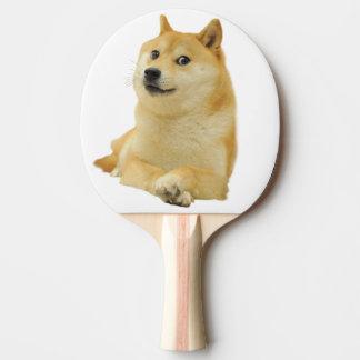 総督のミーム-総督shibe総督の犬かわいい総督 卓球ラケット