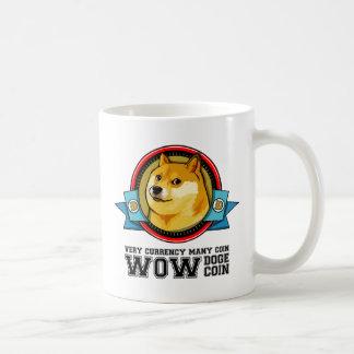 総督のミームDogecoin WOW コーヒーマグカップ