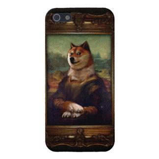 総督のモナ・リザのファインアートのShibeのミームの絵画 iPhone 5 ケース